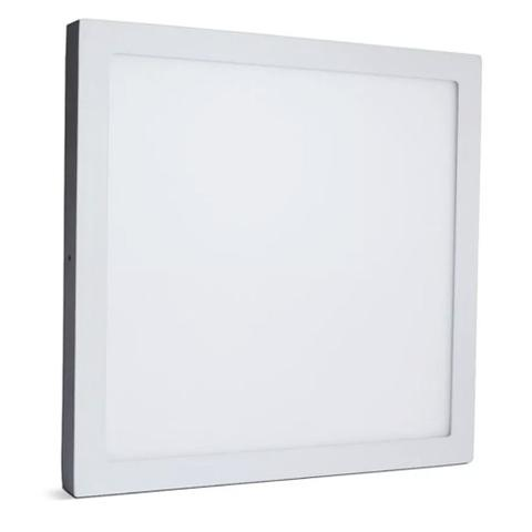 Imagem de Painel Plafon Led 48w Sobrepor Quadrado Branco Frio 60x60