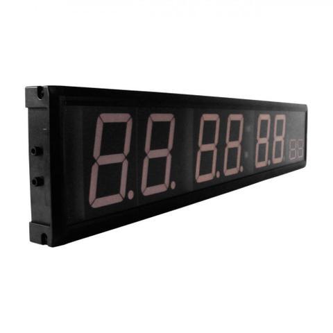 Imagem de Painel Temporizador Digital em Led com Relogio Cronometro e Contagem Regressiva  Liveup