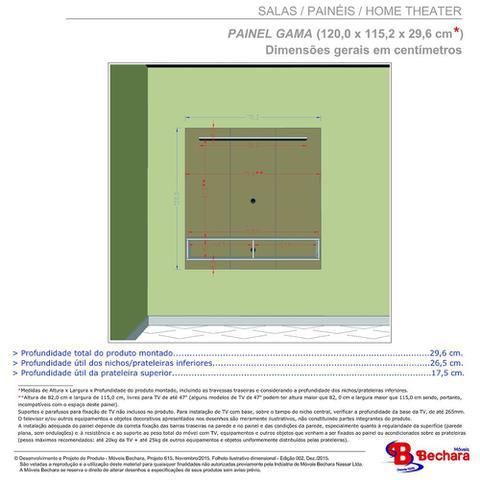 Imagem de Painel TV até 47 Polegadas Gama Sala Cor Off White