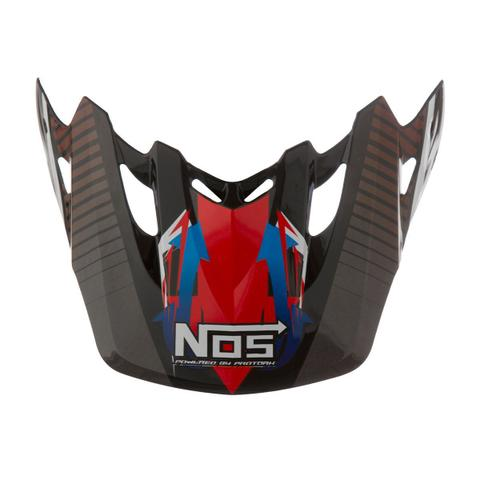 Imagem de Pala Capacete Motocross Pro Tork Th1 Nos