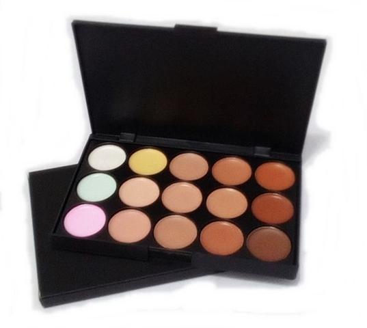 Imagem de Paleta De Base Corretivo 15 Cores Maquiagem Profissional