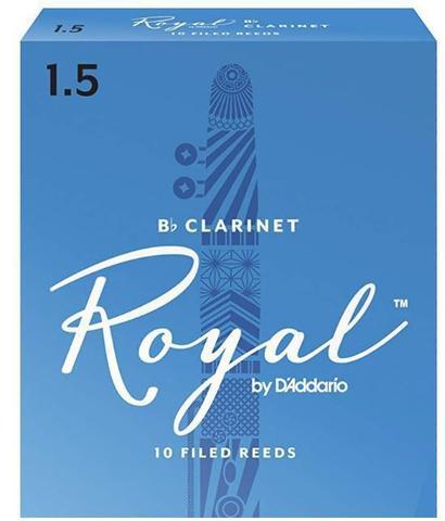 Imagem de Palheta Rico Royal Clarinete Bb 1.5 Rcb1015 C/ 10 Unidades