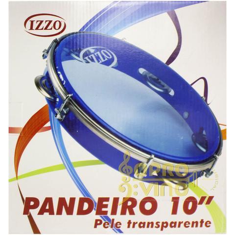 Imagem de Pandeiro Standard 10 Pele Transparente Izzo Cod. 4210