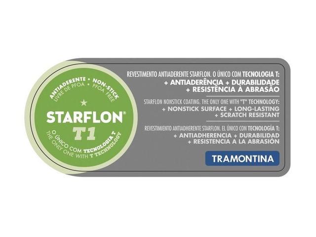 Imagem de Panela 3 em 1 Paris de Alumínio Antiaderente Vermelho Mexicano - Tramontina