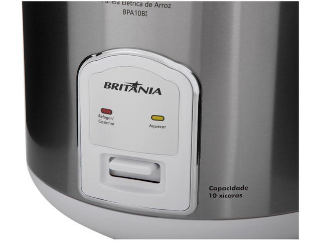 Imagem de Panela de Arroz Elétrica Britânia Tamanho Família