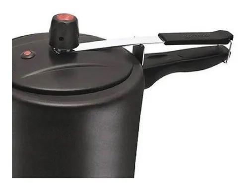 Imagem de Panela De Pressão 7 Litros Preta Antiaderente Teflon 5 camadas