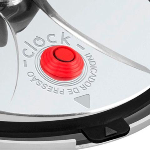 Imagem de Panela de Pressão Clock C102CTA1 PPFI Original - 4,5 Litros