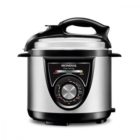 Imagem de Panela de pressão elétrica 5 litros Pratic Cook 5L - PE-34 - Mondial