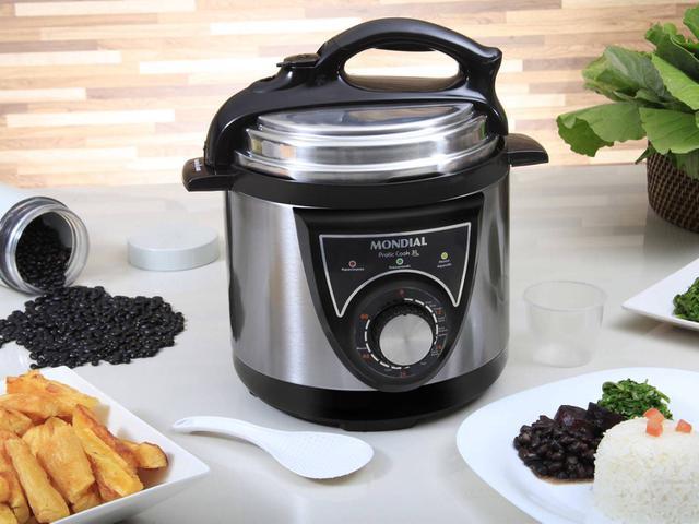 Imagem de Panela de Pressão Elétrica Mondial Pratic Cook