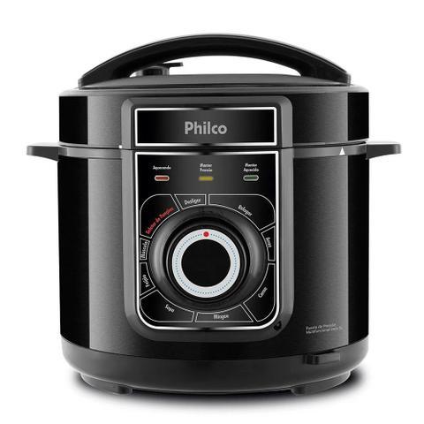 Imagem de Panela de Pressão Elétrica Philco Multifuncional 5 Litros Inox 900W - PPP02PI - Preto