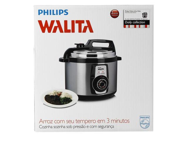 e9311b3d2 Panela de Pressão Elétrica Philips Walita Viva - RI3103 5L Timer ...
