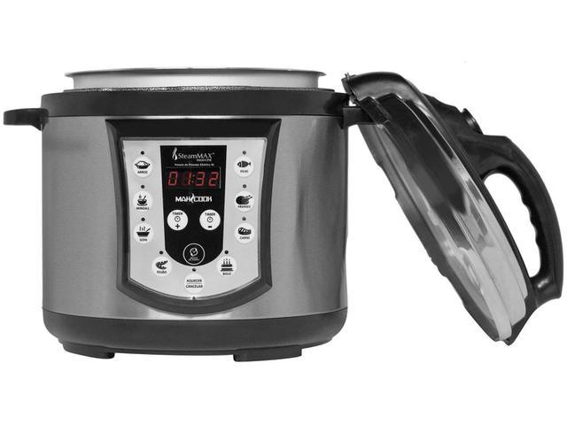 Imagem de Panela de Pressão Elétrica SteamMax Digital 800W