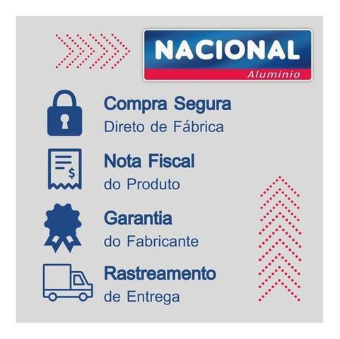 Imagem de Panela de Pressão Fechamento Interno 7 litros Alumínio Nacional