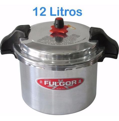 Imagem de Panela De Pressão Fulgor Industrial 12 Litros  c/ Alça