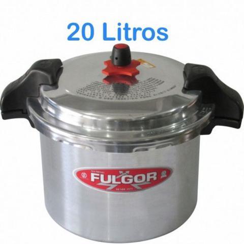 Imagem de Panela De Pressão Fulgor Industrial 20 Litros  c/ Alça