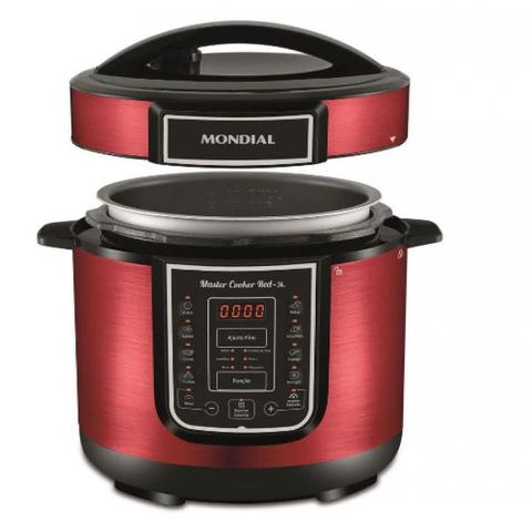 Imagem de Panela De Pressão Mondial Elétrica Master Cooker 3L