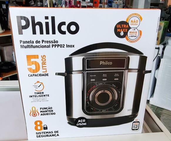 Imagem de Panela de Pressão Multifuncional Philco PPP02 Inox 220V