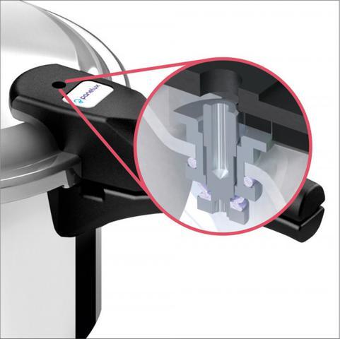Imagem de Panela de Pressão Panelux  Fechamento Externo 4,5 Litros