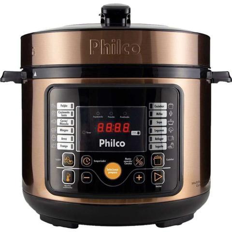 Imagem de Panela de Pressão Philco Digital Gold 5L PPP05G - 127V