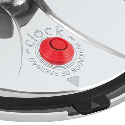 Imagem de Panela De Pressão Polida 7 Litros - Original Clock Garantia