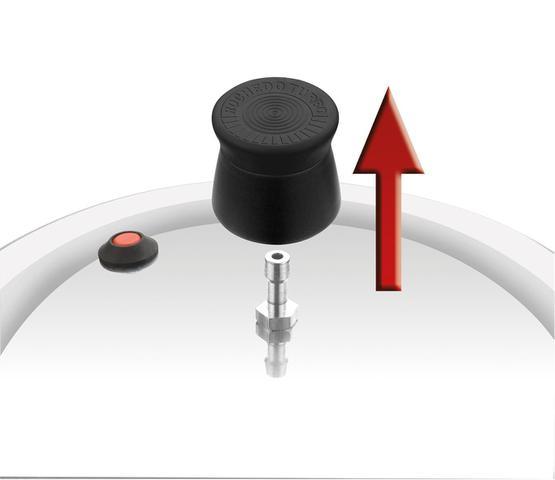 Imagem de Panela de Pressão Rochedo Turbo Fechamento Externo 4,5L