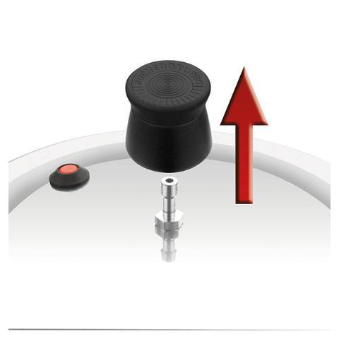 Imagem de Panela De Pressão Rochedo Turbo Top Fechamento Externo 4,5L