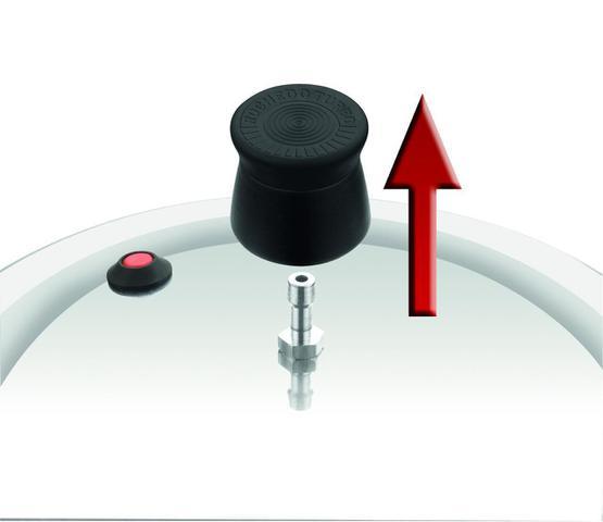 Imagem de Panela de Pressão Rochedo Turbo Top Fechamento Externo 7,6L