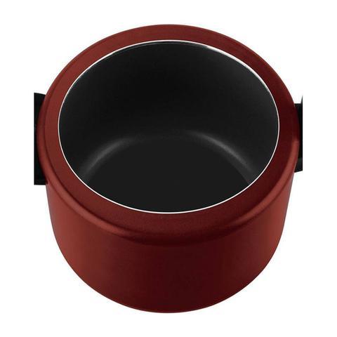 Imagem de Panela de Pressão Vermelha Clock Antiaderente 4,5L