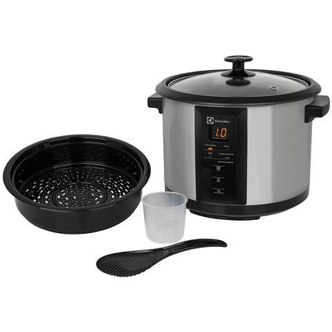 Imagem de Panela Elétrica de Arroz Electrolux Chef Inox 10 Xícaras - 110V