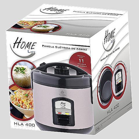 Imagem de Panela elétrica de arroz para 5 xícaras 220v (hla400) - home life