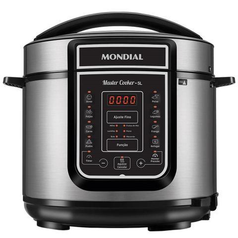 Imagem de Panela Elétrica de Pressão Mondial Digital Master Cooker 5 Litros