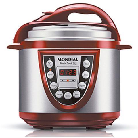 Imagem de Panela Elétrica de Pressão Pratic Cook 5 Litros Mondial