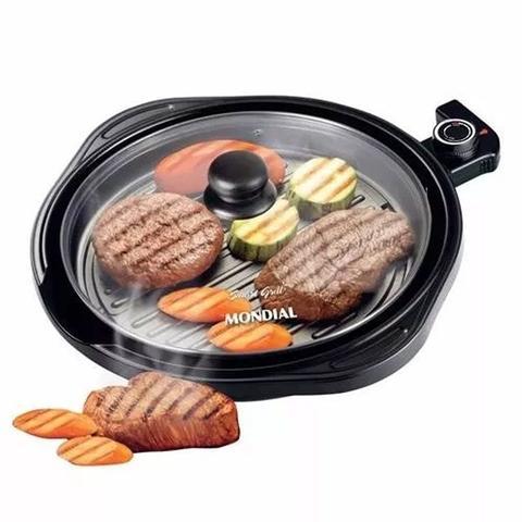 Imagem de Panela Elétrica Grill Mondial Redondo Smart Grill G04 Teflon