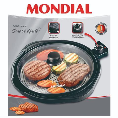 Imagem de Panela Elétrica Grill Mondial Redondo Smart Grill Teflon G04