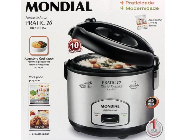 9900b8a2c Imagem de Panela Elétrica Mondial Cooker Premium PE-01 700W