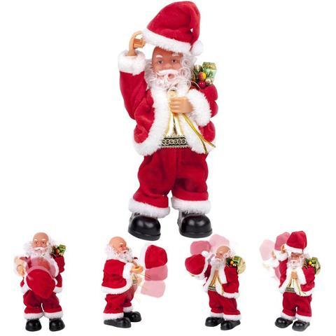 Imagem de Papai Noel Musical Com Movimento Tira O Gorro 23 Cm