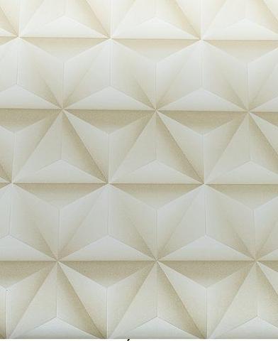 Imagem de Papel Adesivo Decorado Contact Geometrico 3d - 45 Cm X 10 Ms