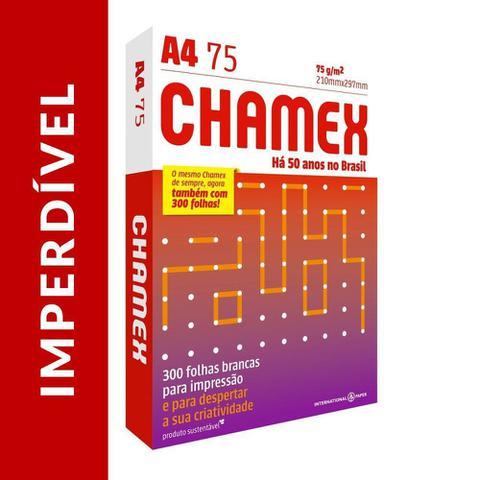 Imagem de Papel Chamex A4 Sulfite 75g 300 Folhas