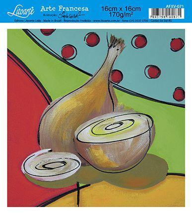 Imagem de Papel Decoupage Arte Francesa Cebola AFXV-071 - Litoarte