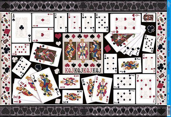 Imagem de Papel Decoupage Grande Cartas PD-204 Litoarte