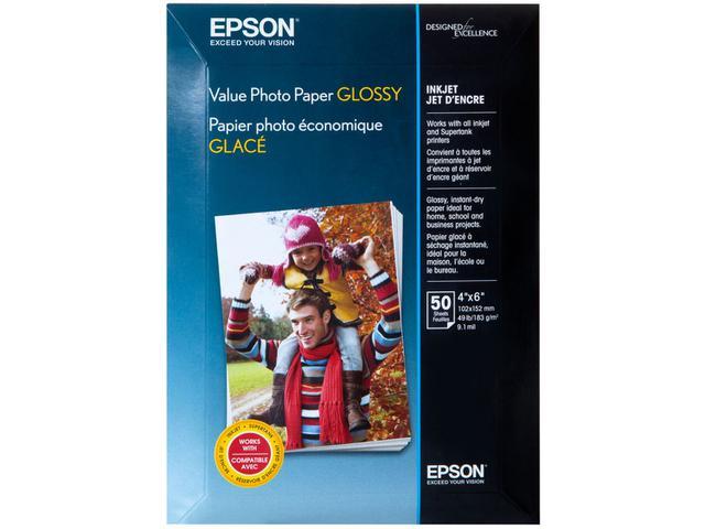 Imagem de Papel Fotográfico 10x15cm Epson 183g