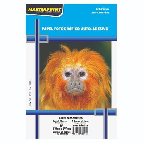 Imagem de Papel Fotográfico Masterprint Adesivo + Glossy 300 Folhas
