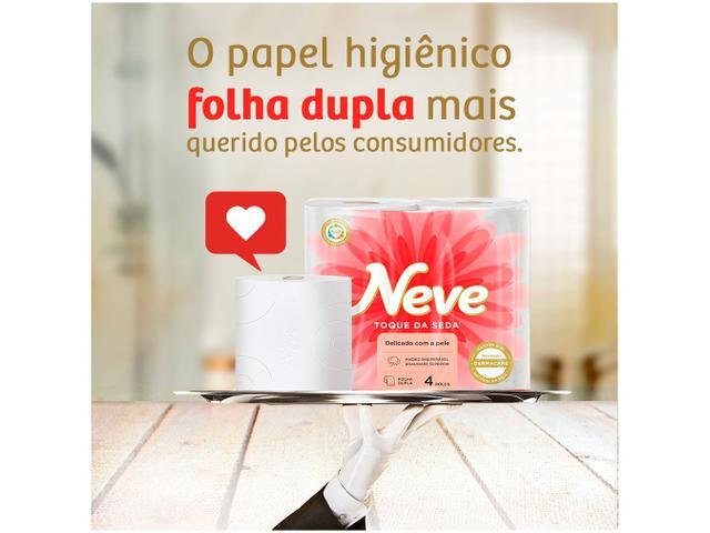 Imagem de Papel Higiênico Folha Dupla Neve Toque de Seda