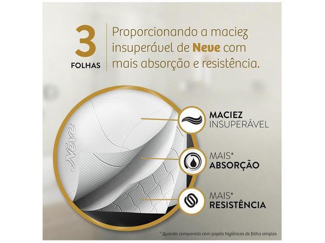 Imagem de Papel Higiênico Folha Tripla Neve Supreme 24 Rolos