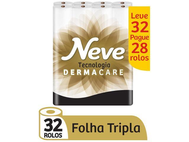 Imagem de Papel Higiênico Folha Tripla Neve Supreme 32 Rolos
