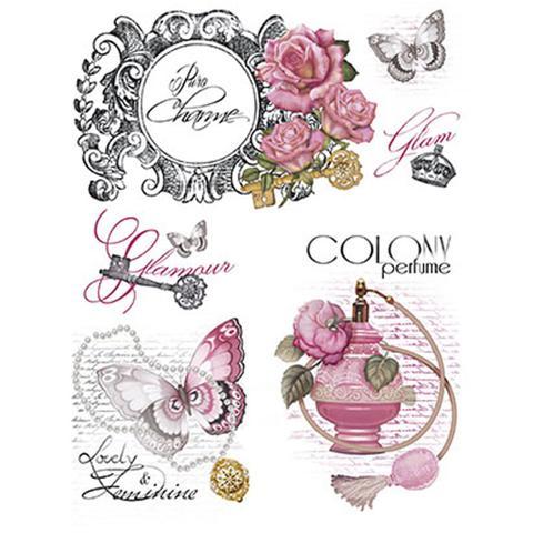 Imagem de Papel Transfer 21,8X28,4 Perfume PTG-010 - Litoarte