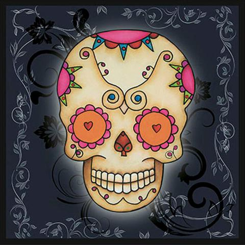 Imagem de Papel Transfer 30x30 Caveira Mexicana II PT30-038 - Litoarte