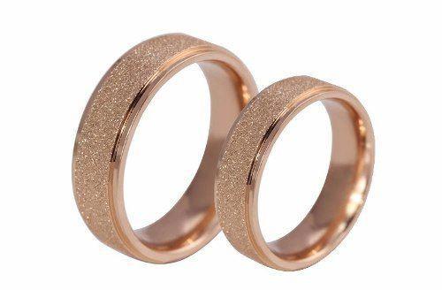 Imagem de Par Alianças 6mm Banhada Ouro Rose Casamento Noivado Oferta!