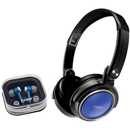 Imagem de Par De Fones De Ouvido Intra-Auricular E Headphone Cv215-A Coby