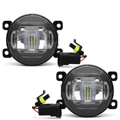 Imagem de Par Farol de Milha 3 LEDs DRL Honda CRV 2012 2013 2014 2015